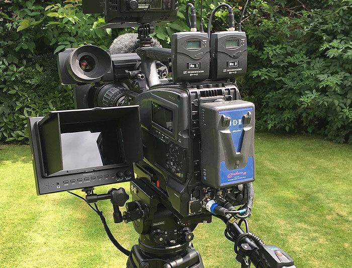 Red Cat Broadcasting Services HD Cam Equipment
